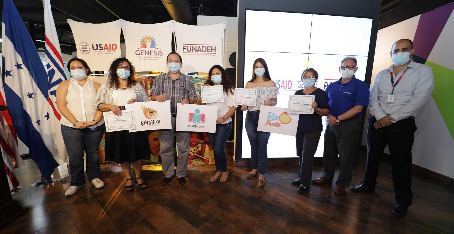 Elcatex Group and FUNADEH Supporting Entrepreneurship